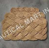 Braided Coir Doormat
