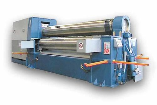 Three Roll Variable Axis Plate Bending Machine