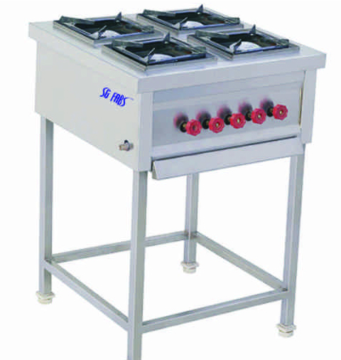 Four Burner Range