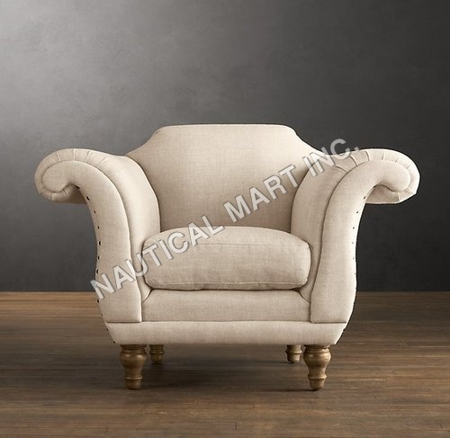 VINTAGEV REGENCY UPHOLSTERED CHAIR
