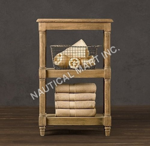 WEATHERED OAK ÉTAGÈRE SMALL19½W x 14¾D x 30H