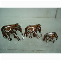 COPPER ELEPHANT 3 PC SET