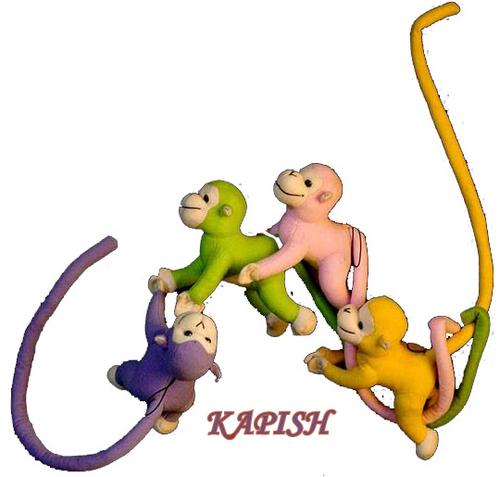 Toy Acrobat Monkey