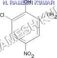 6 Chloro-4-nitro-2-amino phenol