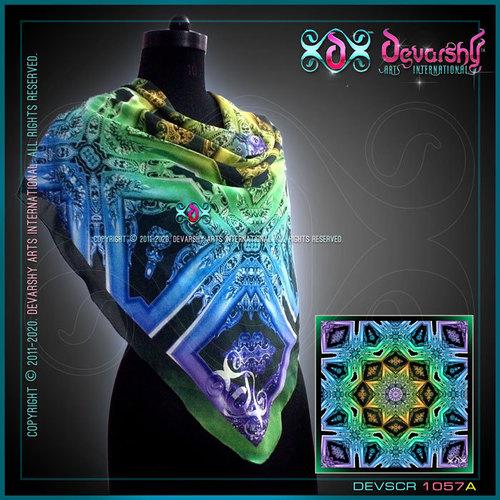 Digitally Printed Silk Scarves