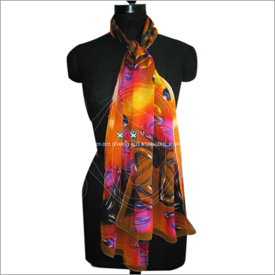 Digitally Printed Head Scarves