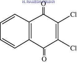 Dichlone  ( 2,3-Dichloro-1,4-naphthaquinone )