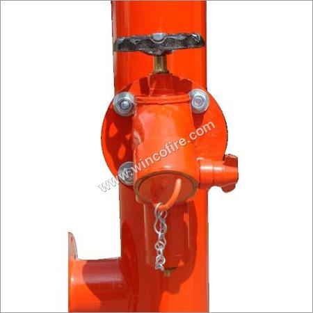 Pressure controlled hydrant valve