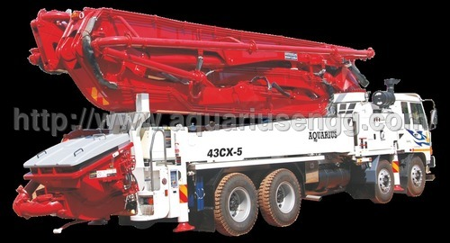 Truck Mounted Boom Pump