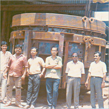 Industrial Melting Furnace Frame