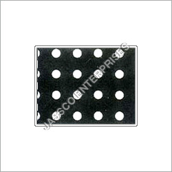 Round Hole Perforated Sheet Straight Pitch