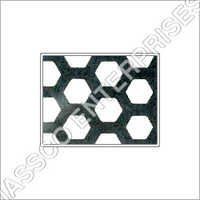 Hexagonal Holes Metal Perforated Sheets