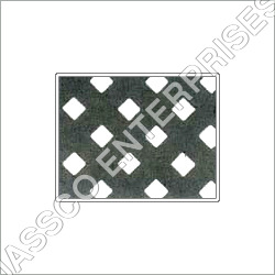 Diagonal Pitch Square Holes Perforated Sheet