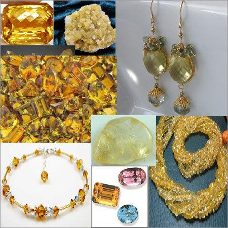 Citrin Beads Jewellery