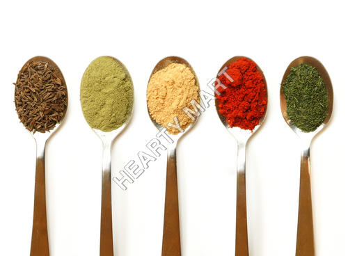Chilli powder, turmeric powder, Coriander Powder,