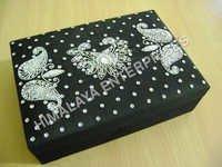 Hand Embroidered Jewellery Box