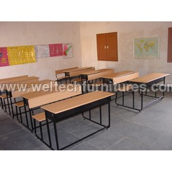 3 Seater School Furniture