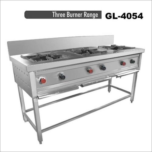 Three Burner Range