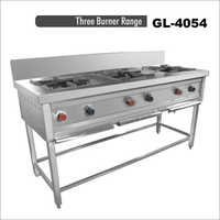 Three Burner Range