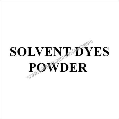 Powder Solvent Dyes