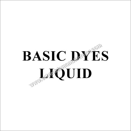 Basic Dyes Liquid