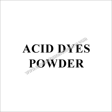 Acid Dyes Powder