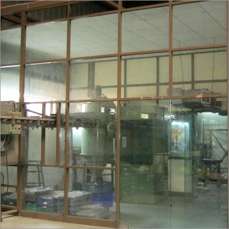 Aluminium Glazed Partition Service