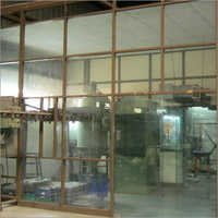 Aluminium Glazed Partition Service
