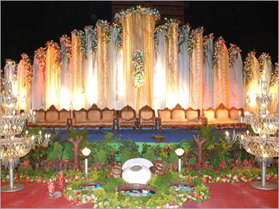 Decorated Wedding Tents