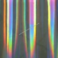 Rainbow holographic films