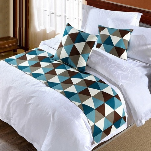 Hotel Bed Runners & Cushion Covers