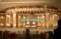 Crystal Lighted Wedding Stage