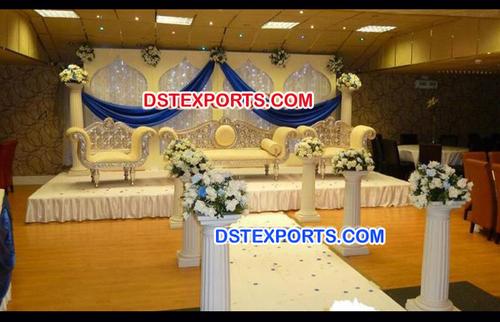 Muslim Wedding Stage Decorations