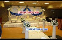 Muslim Wedding Stage Decorations