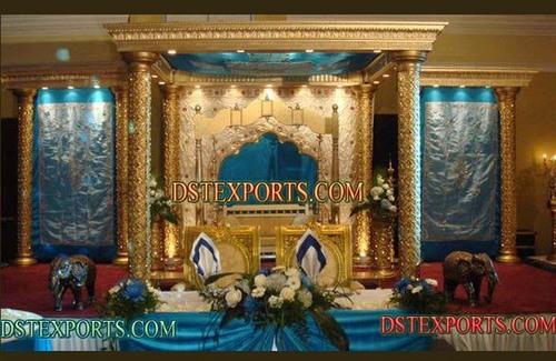 Indian Wedding Gold Mandap Set
