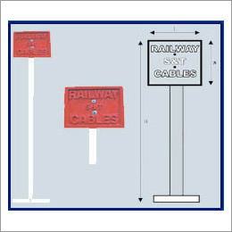 Railway FRP Cable Route Marker