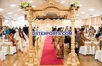 Wedding Heavy Carving Wooden Gate