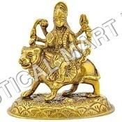 "Brass Maa Durga 4""H"