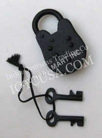 Antique Iron Lock