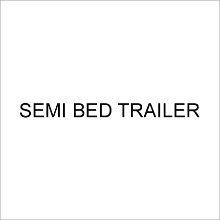 Semi Bed Trailer