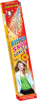 Silver Snow Torches 12