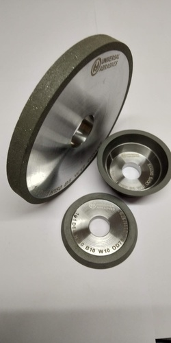 Metal Bound Diamond Dry Squaring Wheel