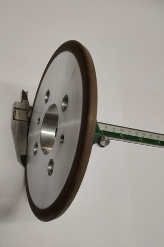 Dry Diamond Squaring Wheel