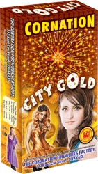City Gold Yellow Glittering