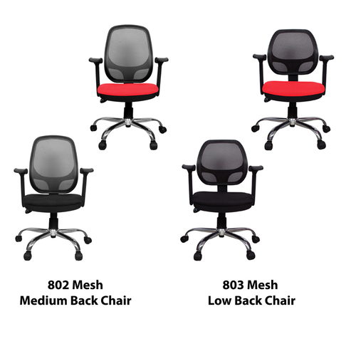 802 & 803 Mesh Back Study Office Chair