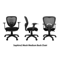 Saphire2 Medium Back Revolving Chair