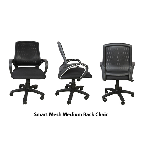 Smart Medium Back Revolving Office Chair