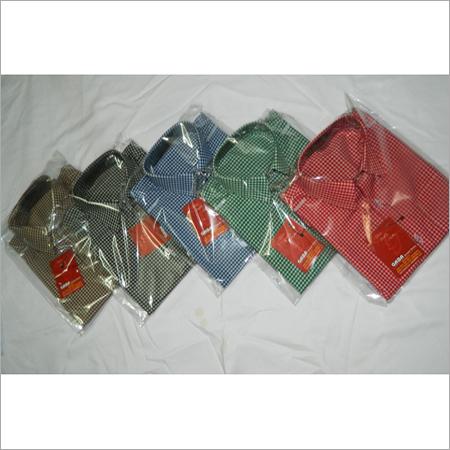School Cheque Shirts