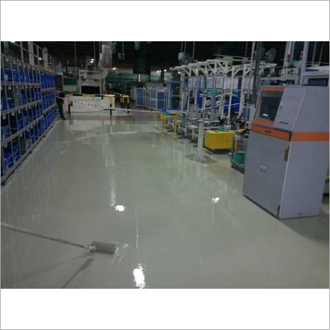 Epoxy Resin Floor Coating