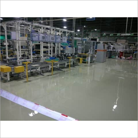 Metallic Epoxy Coating
